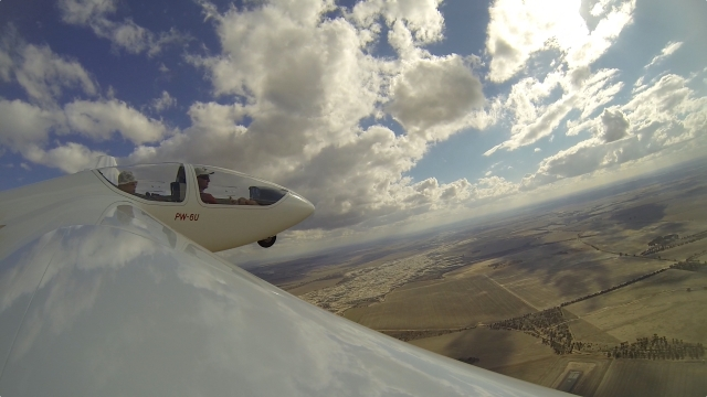 The joy of gliding at Cunderdin